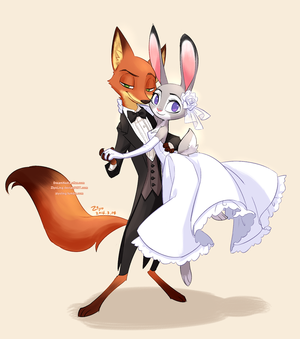 Zootopia-White Day by ZiyoLing