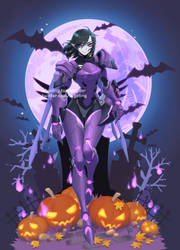 [Overwatch] Halloween Pharah by ZiyoLing
