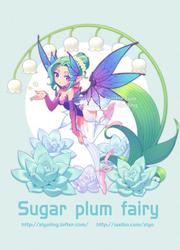 Overwatch Sugar plum fairy mercy