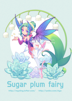 Overwatch Sugar plum fairy mercy
