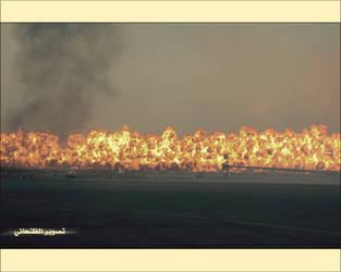 Burn my world by aldhanhani