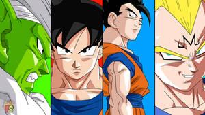 Dragon Ball Kai - Escena del Ending - RENDER