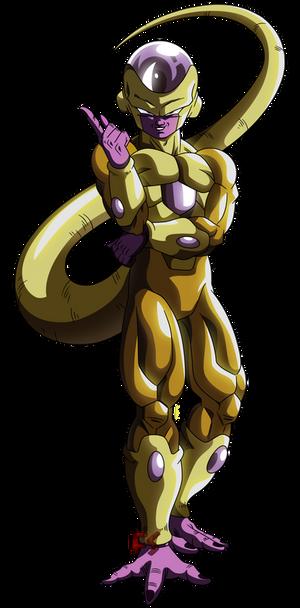 Golden Freezer - RENDER