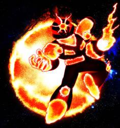 Megamanuary Day 7 - Sunstar the Sungod by LMSR