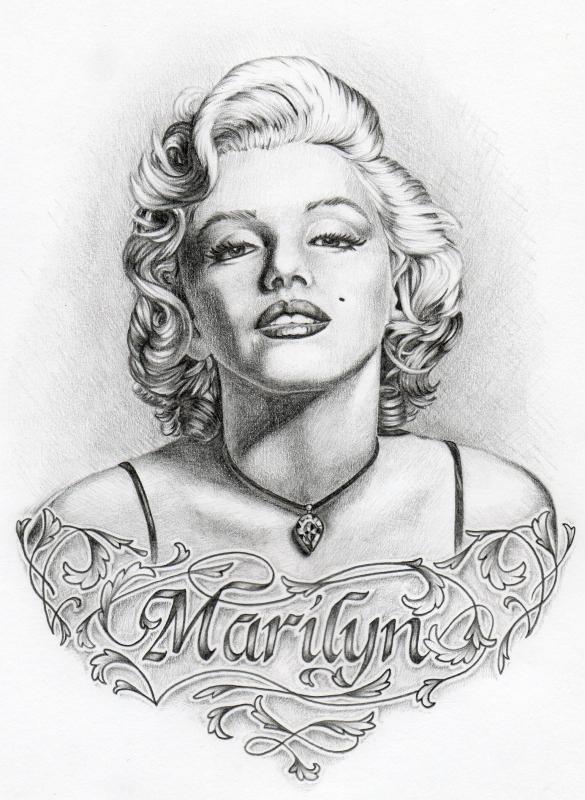 Marilyn Monroe By ShantiCameron On DeviantArt