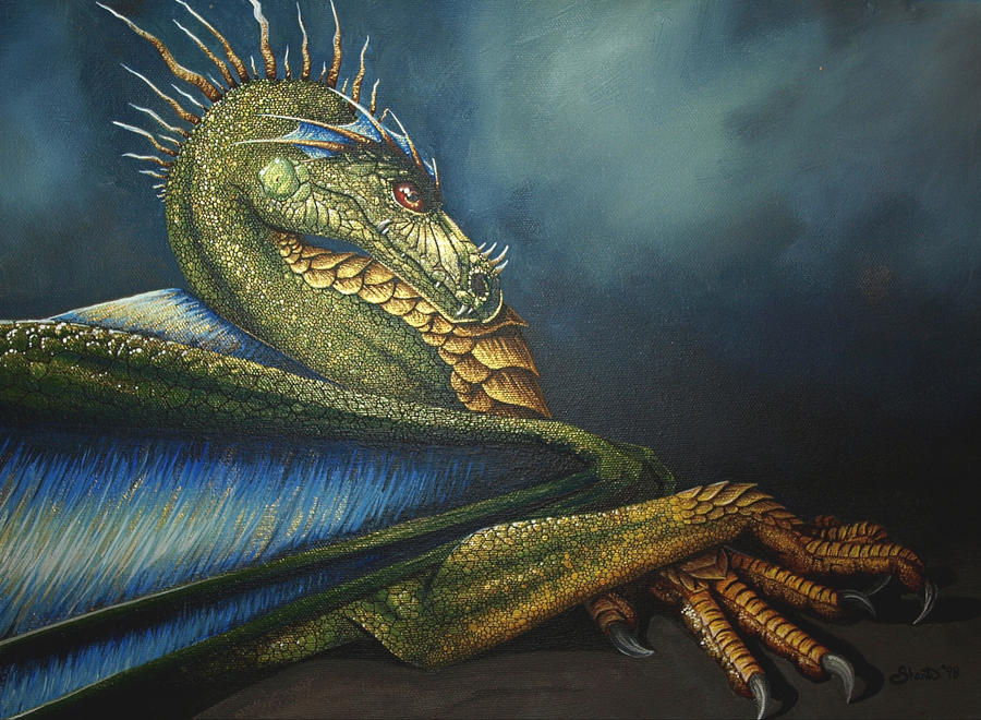 Regal Dragon By Shanticameron On Deviantart