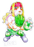Alex, street fighter 3 (8 years ago) by Omegachaino