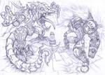 Super Metroid, Samus and Ridley