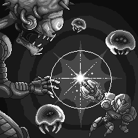 Super Metroid, mother brain. by Omegachaino