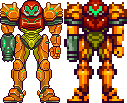 Super metroid, pixel upgrade. by Omegachaino