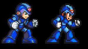 Mega Man X, Pixel Upgrade by Omegachaino