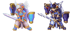 Valkyrie profile,Pixel Upgrade by Omegachaino