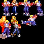 Street of Rage 2,Axel, Pixel upgrade.