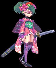 Muramasa: The Demon Blade, Momohime by Omegachaino