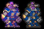 Vile, Mega Man X, Pixel Upgrade