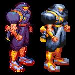 Ginzu the ninja, Captain Commando, Pixel upgrade.