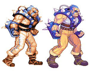 Dolg, Captain Commando, Pixel Upgrade. by Omegachaino