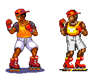 Street of Rage 2,skate, Pixel upgrade. by Omegachaino
