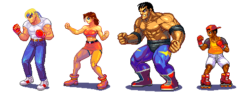 Street of rage 2 by Omegachaino