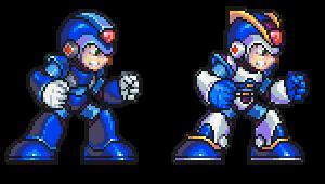 MegaMan X, Armor