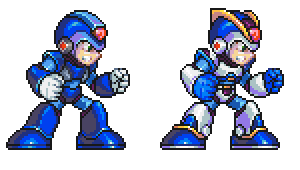 MegaMan X, Armor by Omegachaino