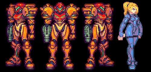 Metroid, Samus. by Omegachaino