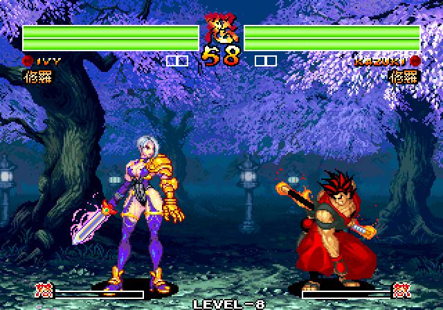 Ivy vs kazuki by Omegachaino