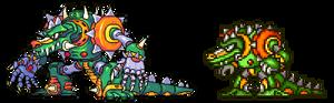 Mega man x 2, Wheel Gator