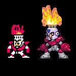 Fire Man, MegaMan, Nes