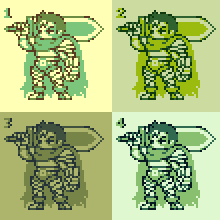 Guts (Gattsu) gameboy colors by Omegachaino