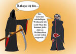 Akatsuki meets Death Kakuzo