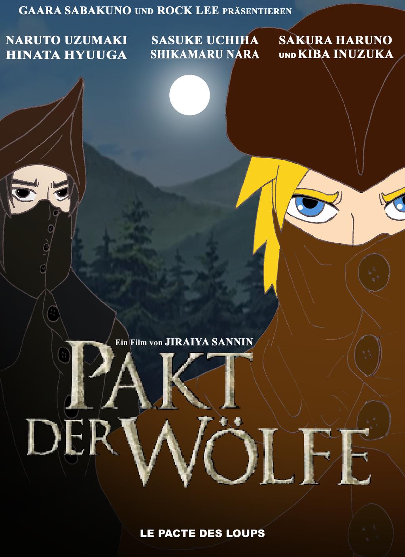 Naruto brotherhood of the wolf by westphalianartist