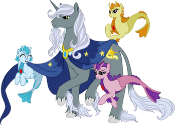 Starswirl and the Sirens by WestphalianArtist