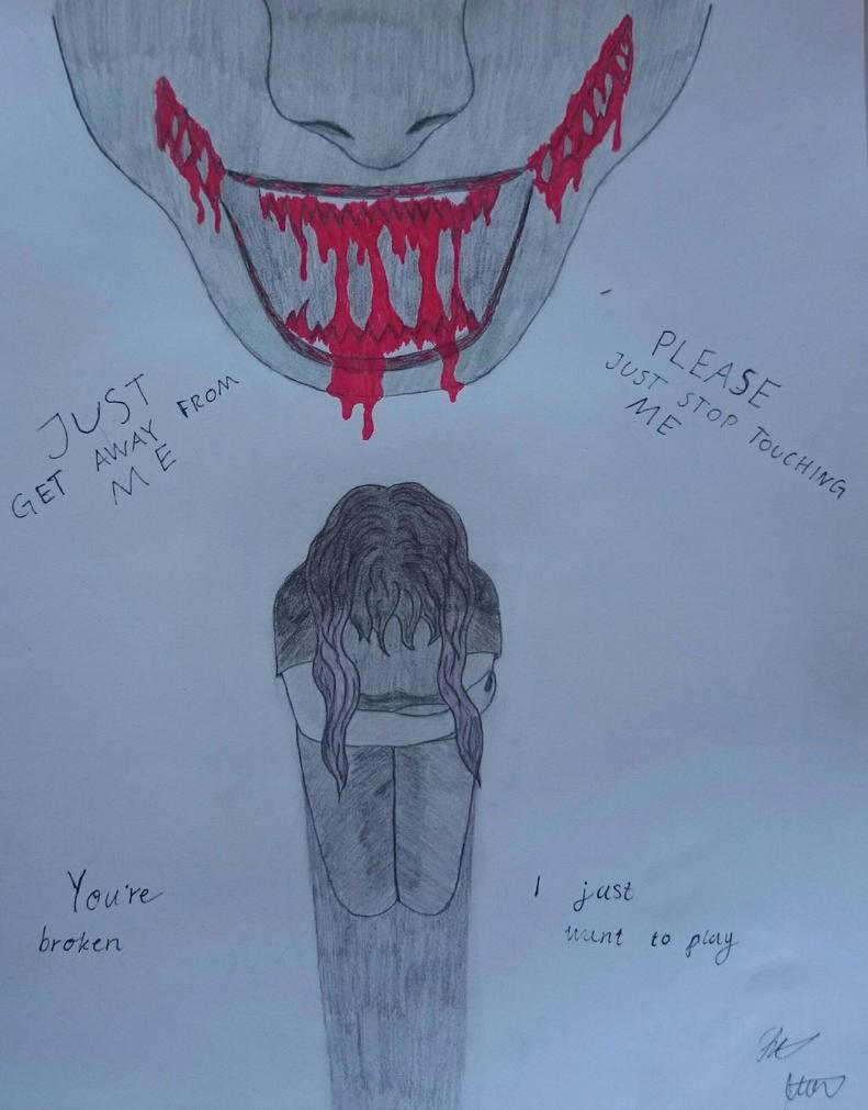 The monster inside of me, that is me  by vampiregirlchika