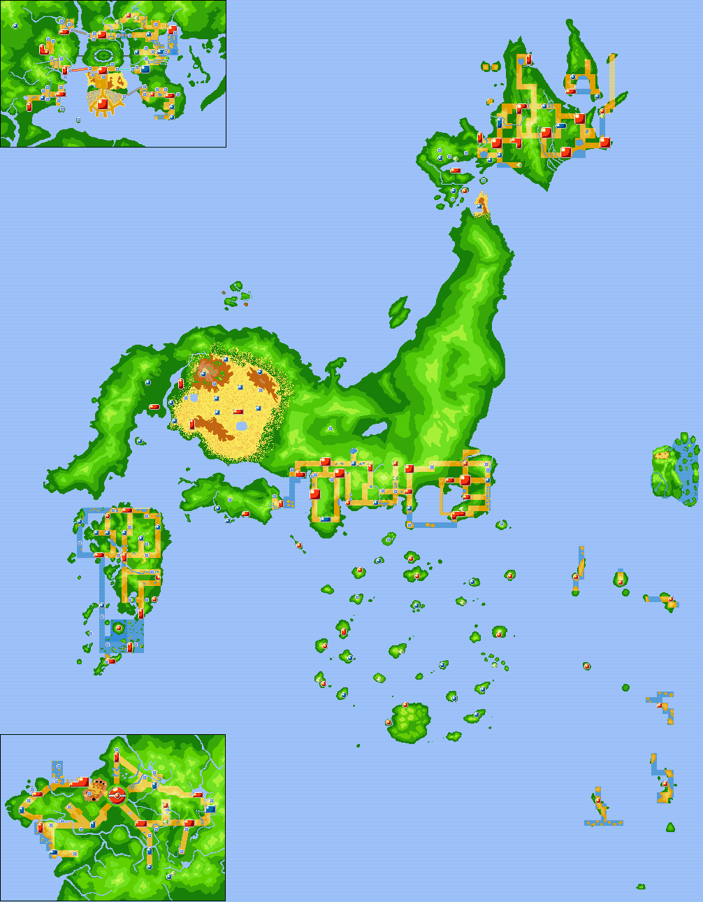 Pokemon World Gen III Map by CKnightsofni on DeviantArt