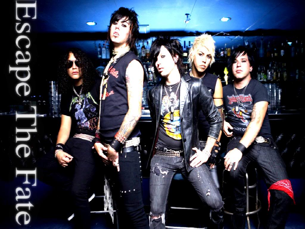 Escape the Fate - Wallpaper by drop--dead--gorgeous on ...