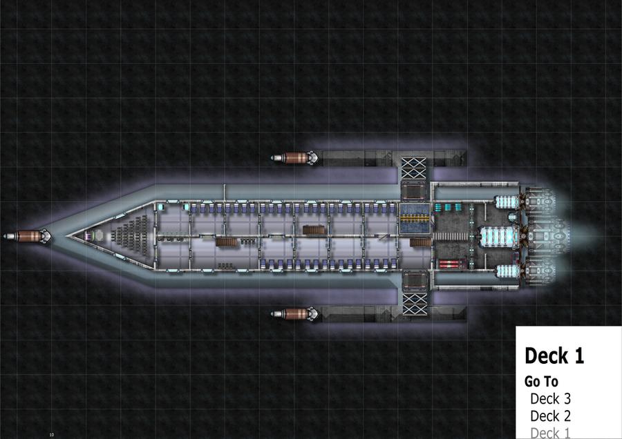 Starship deck1 plans by Raazorfiend on DeviantArt