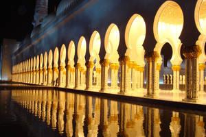 Beauty of a Masjid by princeabbas2000