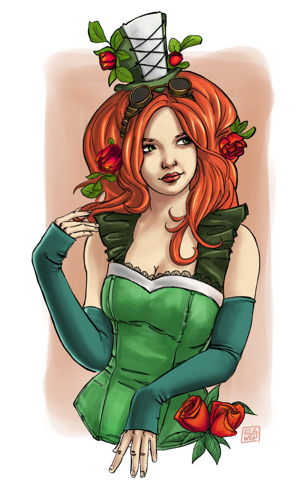 poison ivy by elgwen
