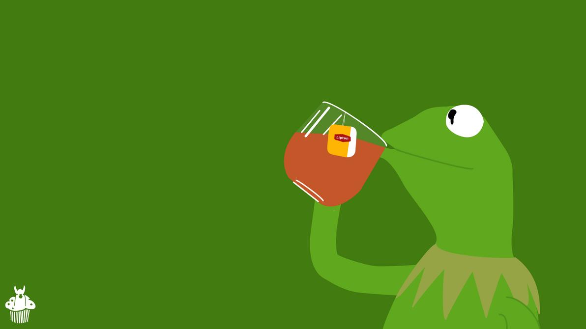 Kermit De Frog Here Wallpaper by LlamaMoofin