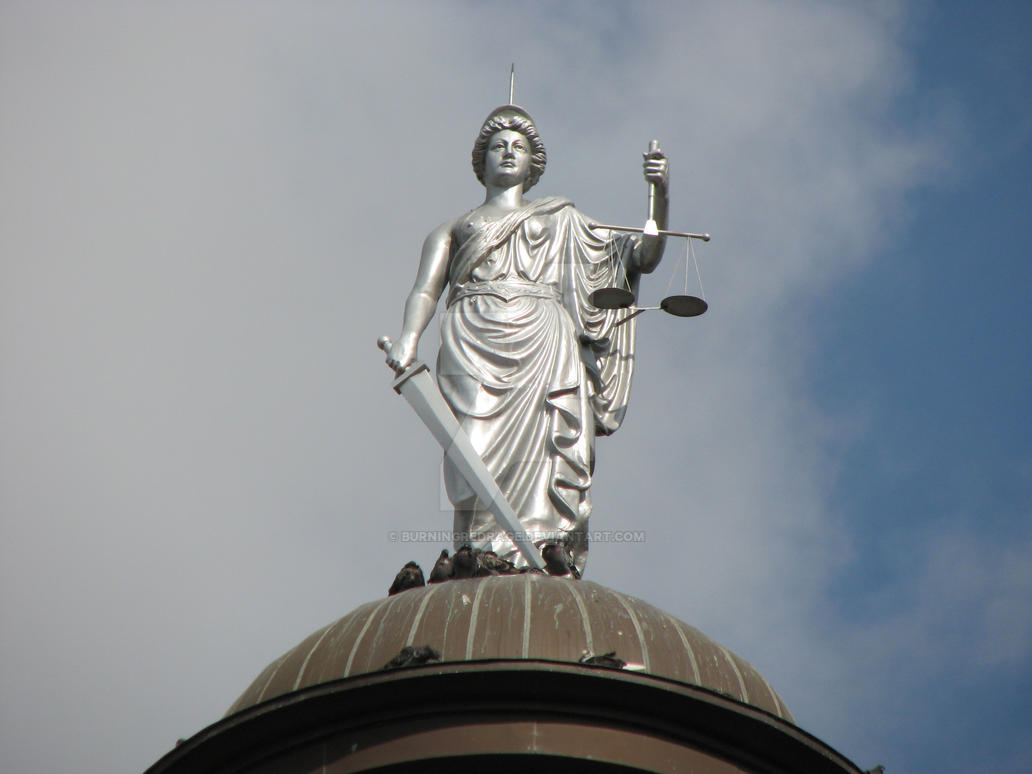 Blind Lady Justice Images Lady Justice by burnin...