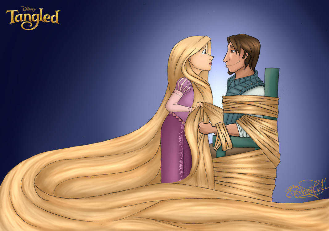 Tangled by zimpo
