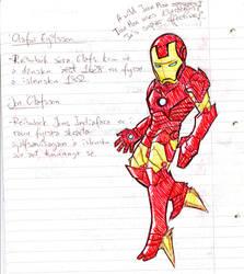 Iron Man invades my studying