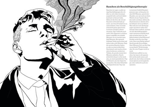 Smoking kills, but I love it! Page 8-9