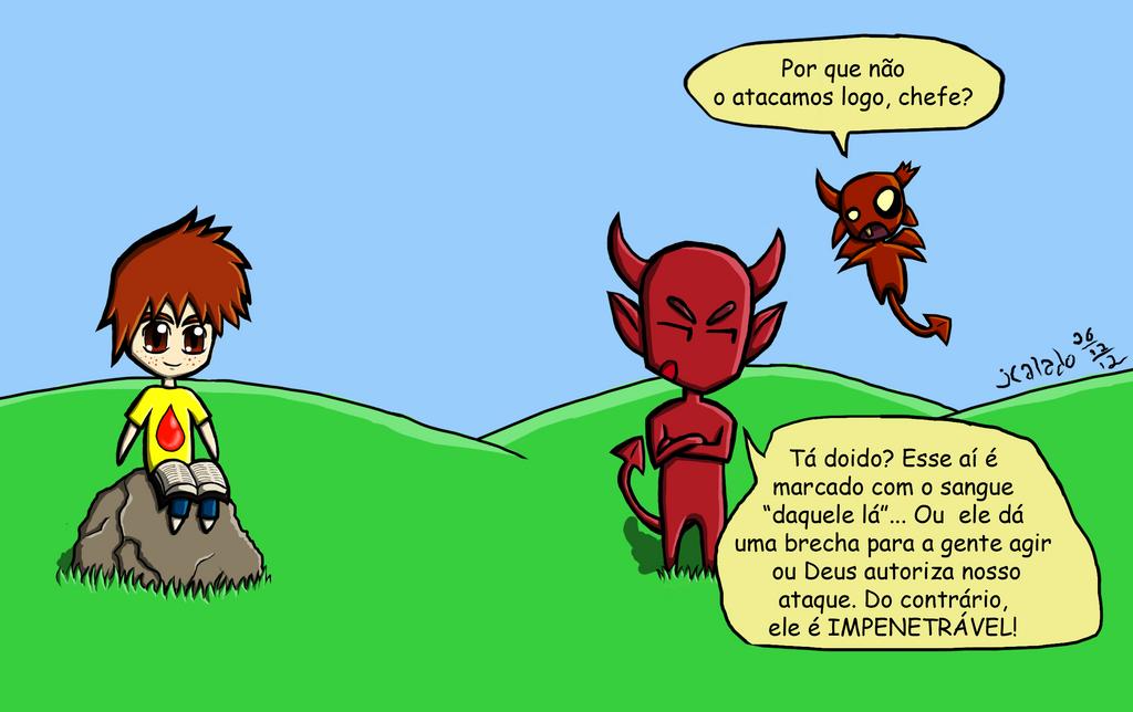 Tirinha 7 - Protegidos by eJcalado