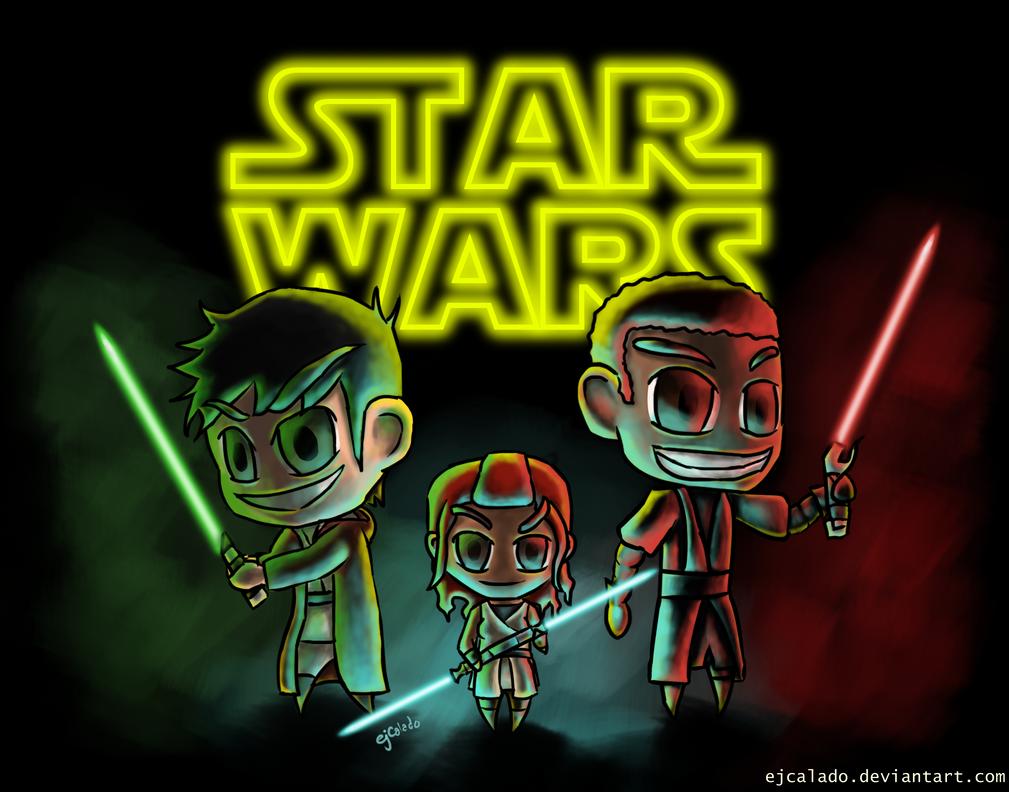 Star Wars Buddies by eJcalado