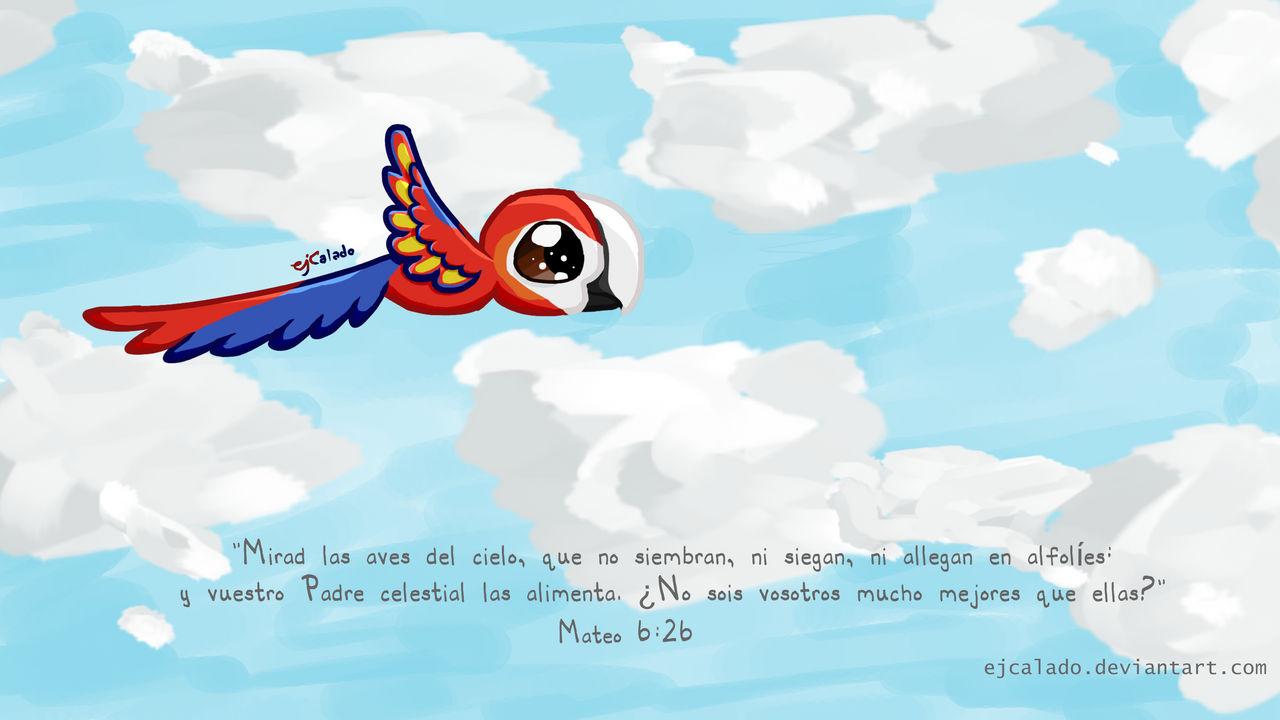Mateo 6:26 Wallpaper - Espanol by