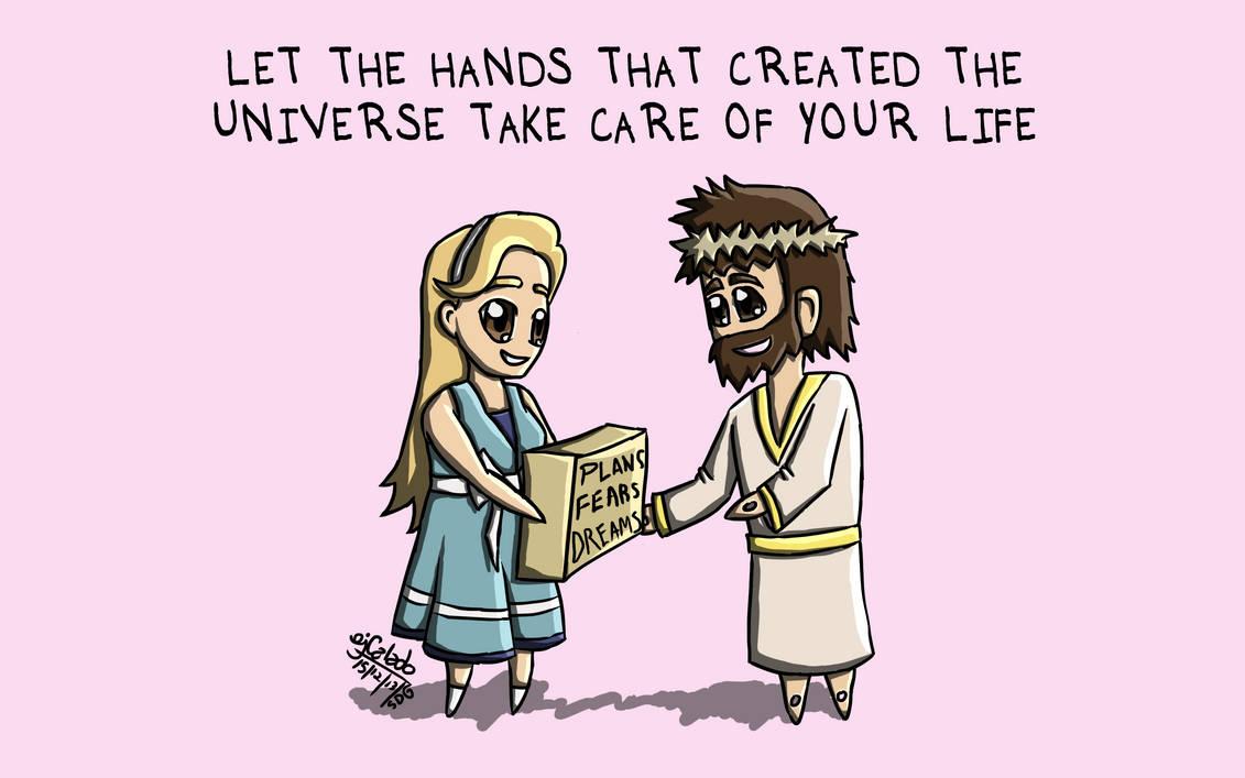 Cartoon 13 - You Take Care of It
