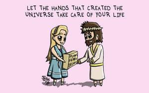 Cartoon 13 - You Take Care of It by eJcalado