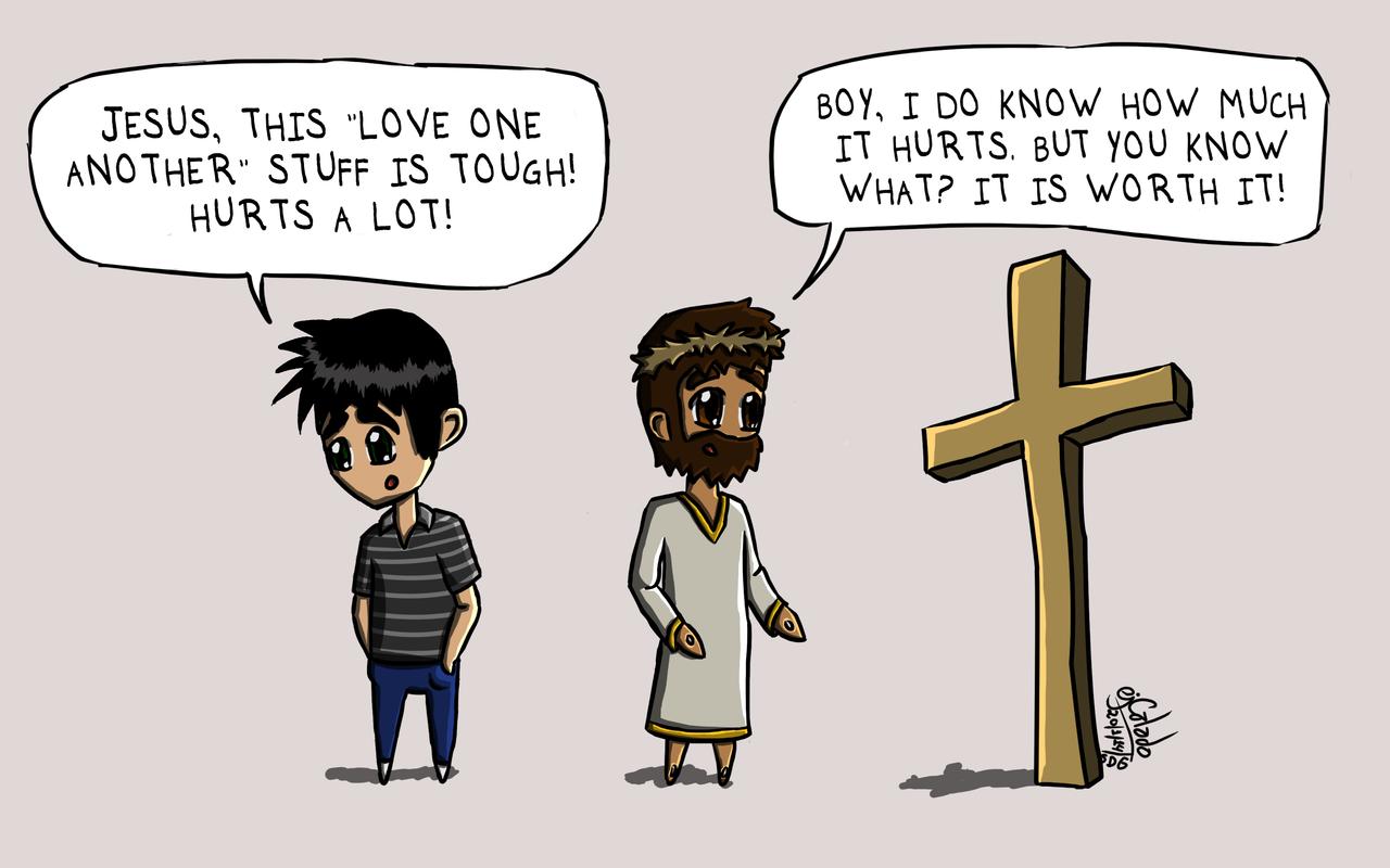 Cartoon 16  Love Aint Easy by eJcalado on DeviantArt